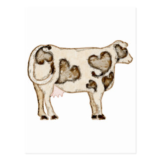 Love Cow Postcards
