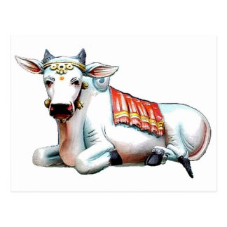 Love Cow Postcard