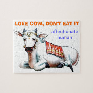 Love Cow Jigsaw Puzzles