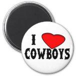 Love Cowboys Magnet