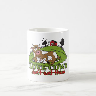 Love Cows, Don't Eat them Coffee Mug