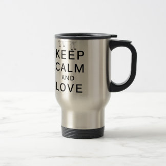 love cows travel mug