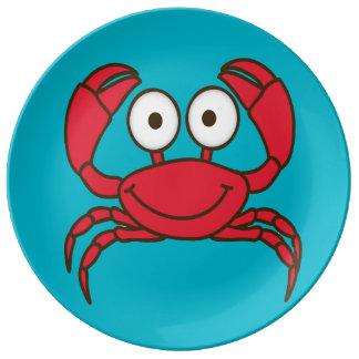 Love Crab Porcelain Plate