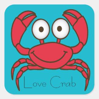 Love Crab Sticker