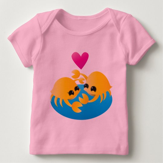 Love Crabs Baby T-Shirt