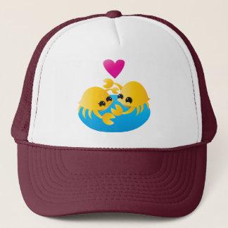 Love Crabs Trucker Hat