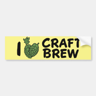 Love Craft Brew Sticker