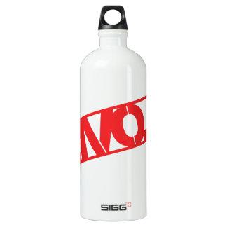 Love Crate Stamp Aluminum Water Bottle