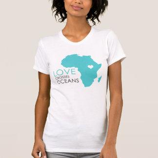 Love Crosses Oceans - Africa T-shirts