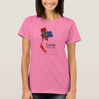 Love Crosses Oceans: Teachers for Thailand T-Shirt