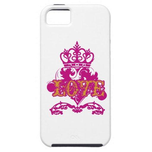 Love Crown  Valentine iPhone 5 Case