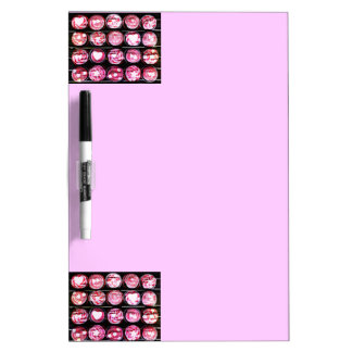 Love Cupcakes Dry-Erase Whiteboards