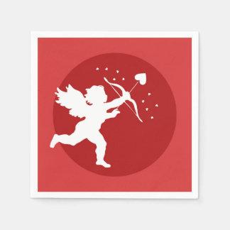 Love Cupid Illustration Napkin