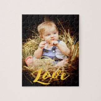 Love custom family photo kids or pet jigsaw puzzle
