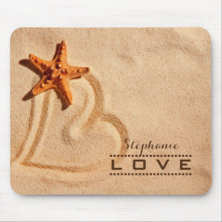 Love. Custom Name Valentine's Day Gift Mousepads