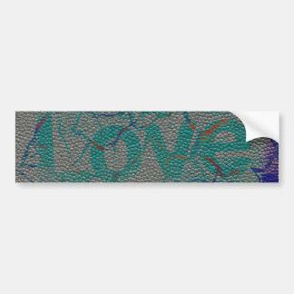 Love Customize Product Bumper Sticker