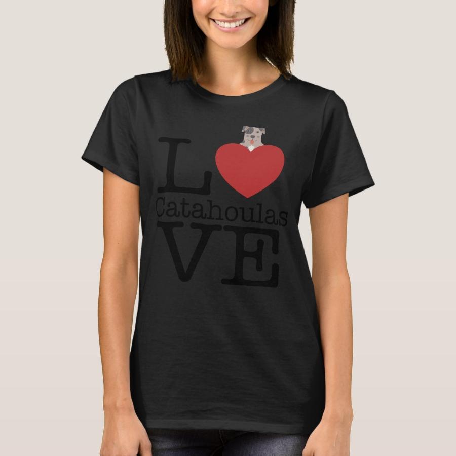 Love Cute Catahoulas T-Shirt - Best Selling Long-Sleeve Street Fashion Shirt Designs