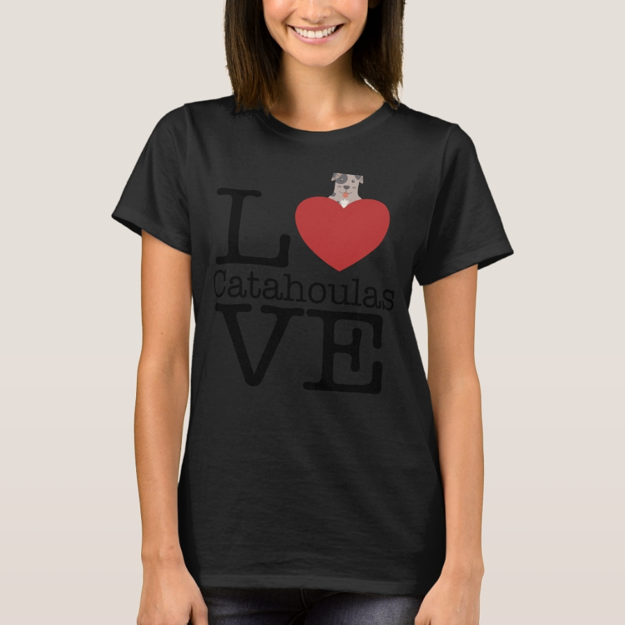 Love Cute Catahoulas T-Shirt - Best Selling Long-Sleeve Street Fashion Shirt Designs