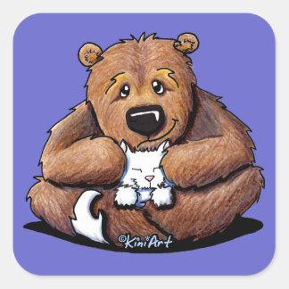 Love Da Kitty Bear Sticker