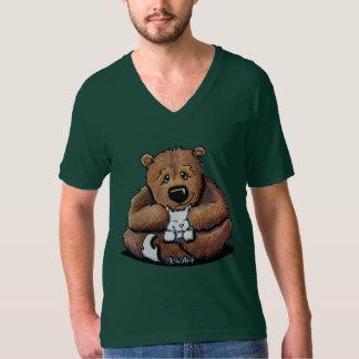 Love Da Kitty Brown Bear T-Shirt