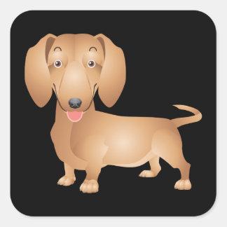 Love Dachshund Puppy Dog Sticker / Seal