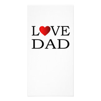 Love dad card