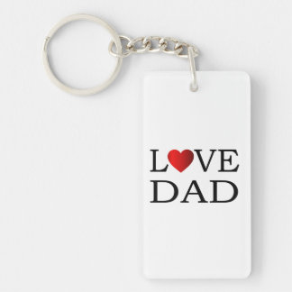 Love dad keychain