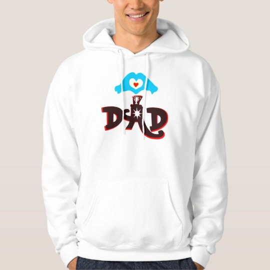 ♫♥Love Dad Stylish Unisex Hooded Sweatshirt♥♪ Hoodie