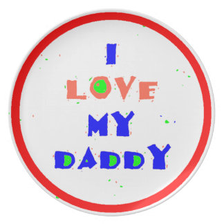 Love Daddy Plate