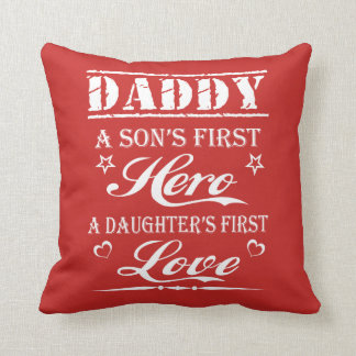 LOVE DADDY THROW PILLOW