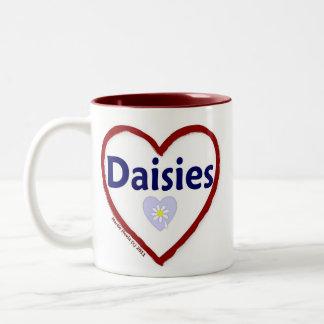 Love Daisies Coffee Mug