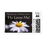 Love - Daisy - He Loves Me! Postage