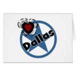 Love Dallas Card