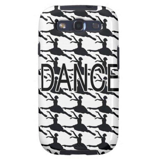 Love Dance - Ballerina dancer silhouette Galaxy SIII Cases
