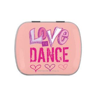 Love Dance Candy Tin