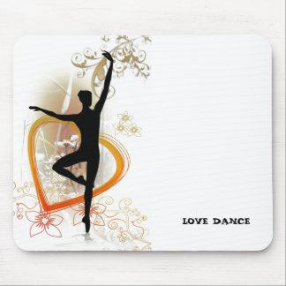 love dance mouse pad