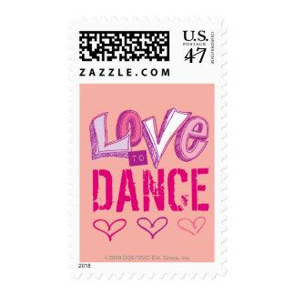 Love Dance Stamp