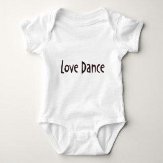 Love Dance Text T Shirt