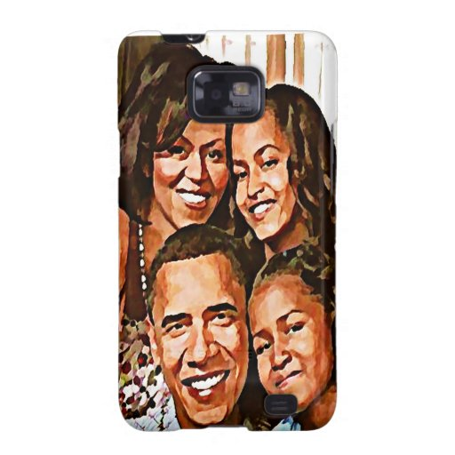 Love_ de Obama Galaxy SII Carcasas