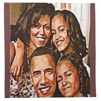 Love_ de Obama Servilleta De Papel