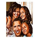 Love_ de Obama Tarjeta Postal
