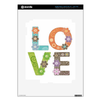 Love Decals For iPad 3