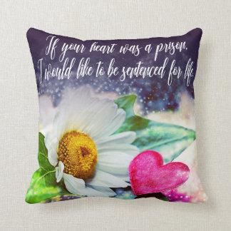 Love, declaration of love/Declaration OF love Throw Pillow