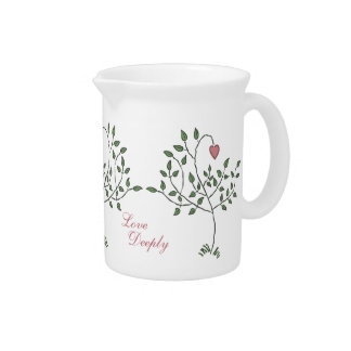 Love Deeply Deeply Loved Drink Pitcher
