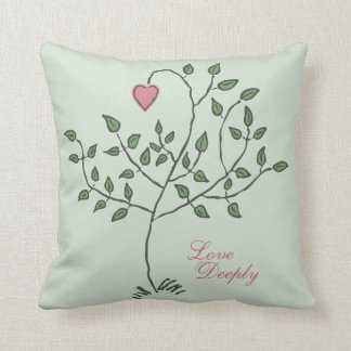 Love Deeply Deeply Loved Throw Pillow