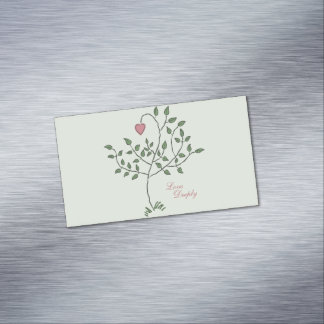 Love Deeply Magnetic Business Card