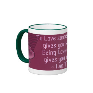 Love deeply mug