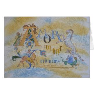 Love defies Order! Greeting Card
