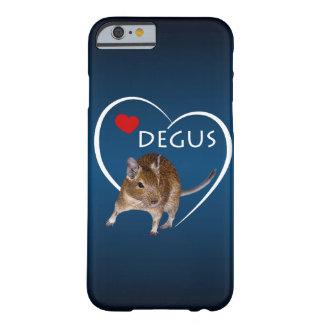 Love Degus iPhone 6 Case (Light/Dark Blue)