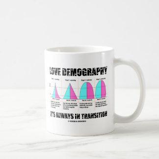 Love Demography It's Always In Transition Coffee Mug